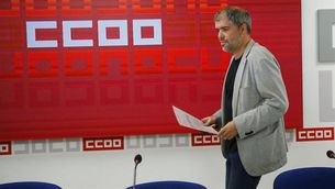El secretari general de CCOO, Unai Sordo (EFE)