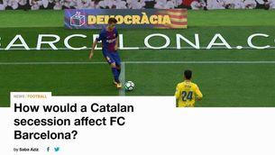 La cadena Al Jazeera es preocupa pel futur del Barça