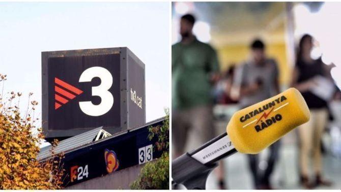 Imatge de recurs de TV3 i Catalunya Ràdio