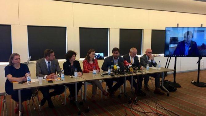 Els consellers a Bèlgica anuncien accions legals contra el govern espanyol