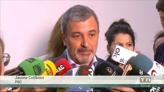 """Imatge de:Collboni diu que Valls ha estat """"molt generós"""" i aposta per un govern de comuns i PSC"""