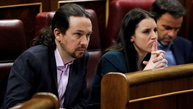 """El contingut de la denúncia d'Iglesias i Montero vol posar de relleu """"l'especial protecció"""" que mereixen els seus tres fills, me…"""