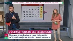 Planta baixa - El govern proposarà ajornar les eleccions tres mesos