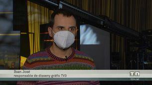 La jornada electoral, a TV3, 324 i el 324.cat