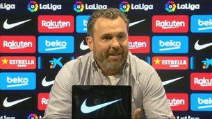 """Sergio González: """"Si et toca la pilota a la mà, és penal"""""""