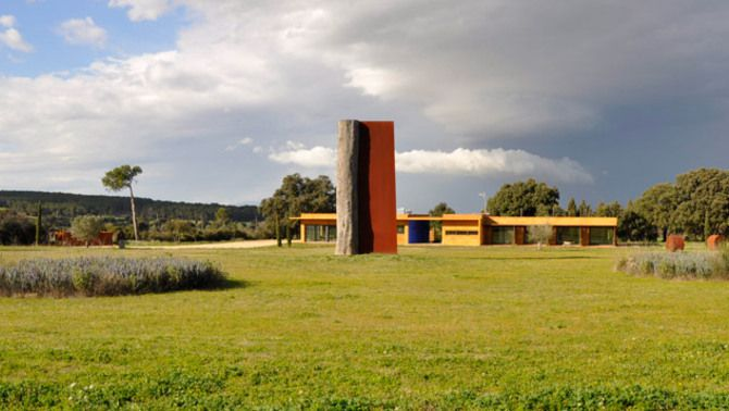 L'Olivar, el jardí escultòric de Ventalló