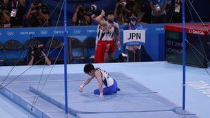La sorprenent caiguda del doble campió olímpic de gimnàstica
