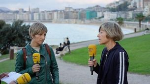 Maria Jauregi i Pili Zabala