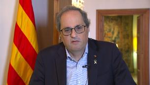 """El president de la Generalitat, Quim Torra, ha reconegut que no han estat """"prou curosos"""" amb la gestió de les dades de morts a les residències"""