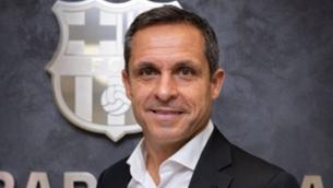 Sergi Barjuan, nou entrenador del Barça B