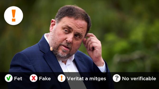 És veritat que Oriol Junqueras no pot anar a la taula de diàleg, com diu Pedro Sánchez?