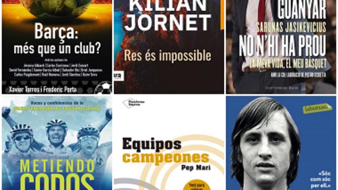 Idees per a un Sant Jordi amb llibres esportius