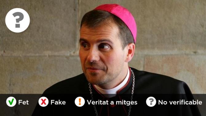 Què en sabem, de l'àudio que vincula el bisbe Novell amb una amenaça del rei?