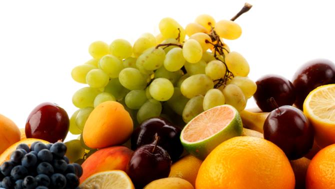 Raïm, taronges i altres fruites (Onef9day)