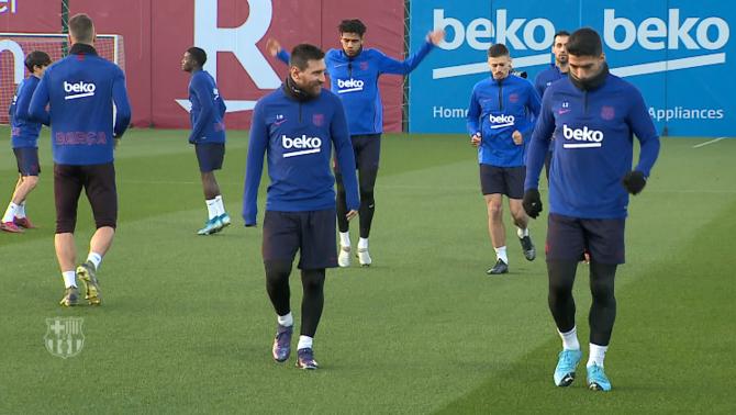 """Valverde """"recupera"""" els seus homes a 48 hores del derbi"""