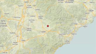 Un terratrèmol de magnitud 3 es nota al Gironès, la Selva i el Baix Empordà