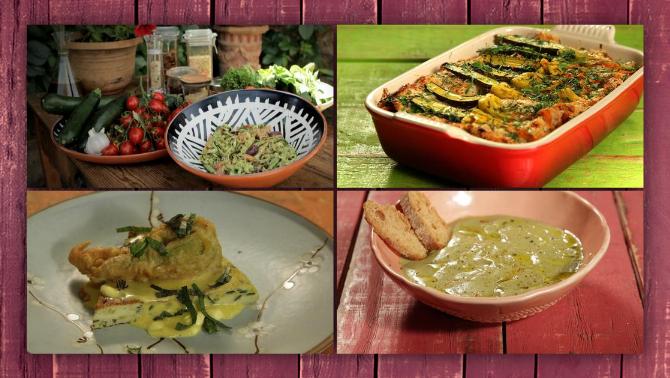 7 receptes amb carbassó, una verdura d'estiu refrescant i versàtil