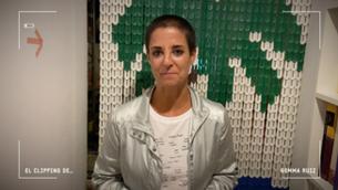"La periodista i escriptora Gemma Ruiz en una entrevista a ""Clipping"""