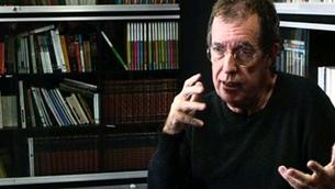 """Miquel de Palol, escriptor de """"El testament d'Alcestis""""."""