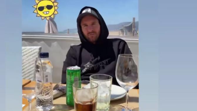 """El troleig de Luis Suárez al vídeo de Leo Messi prenent el sol: """"Quina cara, col·lega"""""""