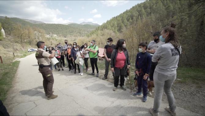 El desconfinament després de mesos d'estar tancats a casa ha facilitat la massificació dels espais naturals a Catalunya