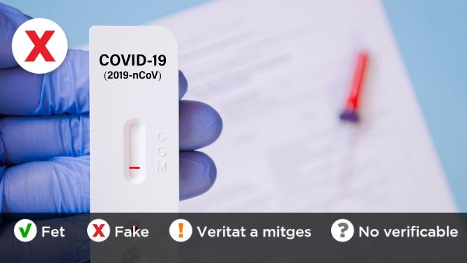 Es pot detectar si algú s'ha vacunat fent un test d'antígens?