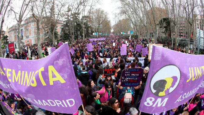 La jutge arxiva la causa per la manifestació del 8M a Madrid en l'inici del coronavirus