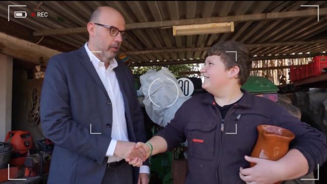 Jordi Basté entrevista el youtuber Miquel Montoro