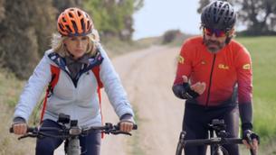"""Santi Millán: """"Vaig començar a pedalar als 42 anys"""""""