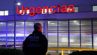 Exterior d'un centre hospitalari de Madrid (Europa Press/Oscar J. Barroso)