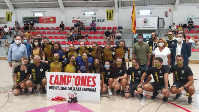 El Palau supera el Manlleu (2-4) i guanya la primera edició de la Lliga Catalana femenina d'hoquei patins