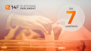 Els partits comencen a apel·lar al vot útil en el setè dia de campanya