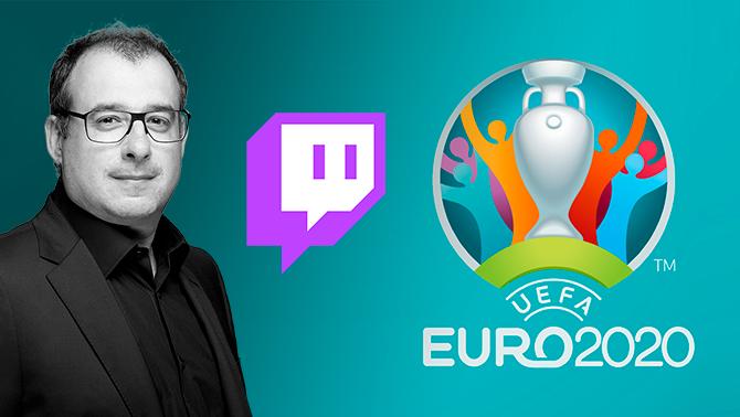 Catalunya Ràdio estrena el seu canal de Twitch amb l'Eurocopa