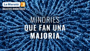 El lema de La Marató de TV3 dedicada a les malalties minoritàries