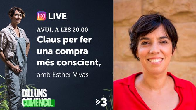 "Live amb Esther Vivas a ""Dilluns començo"""