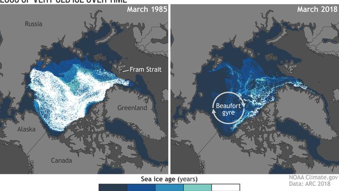 El desgel de l'Àrtic, cada cop més preocupant