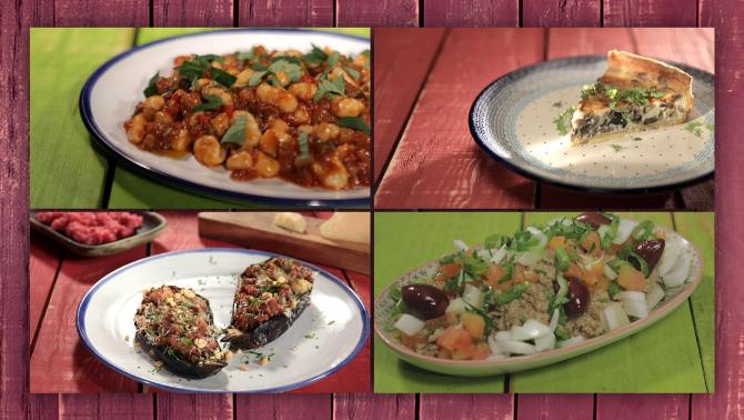 Albergínia o esbergínia o aubergínia: receptes per cuinar-la, en diguis com en diguis