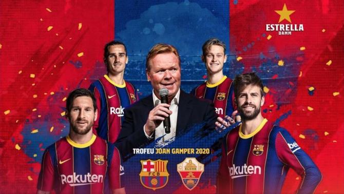 L'Elx serà el rival del FC Barcelona al Trofeu Joan Gamper