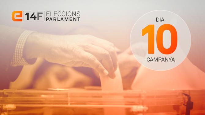La mobilització dels indecisos marca l'últim diumenge de campanya del 14F