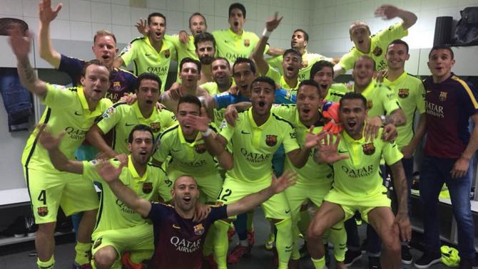 El Barça es proclama campió de Lliga amb un gol de Messi al Calderón (0-1)