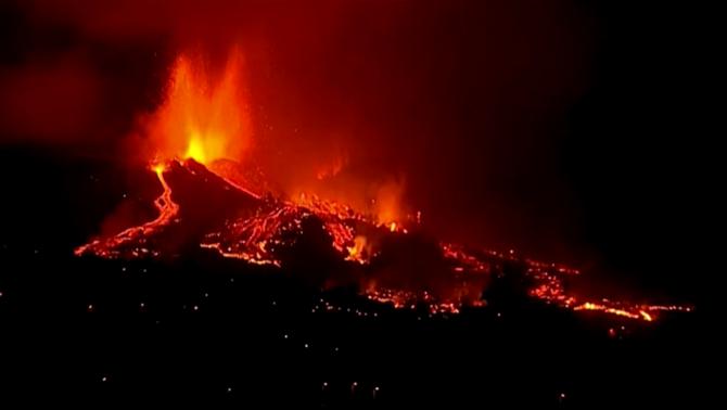 El Cumbre Vieja entra en erupció quan està a punt de complir-se 50 anys de l'erupció del Teneguía