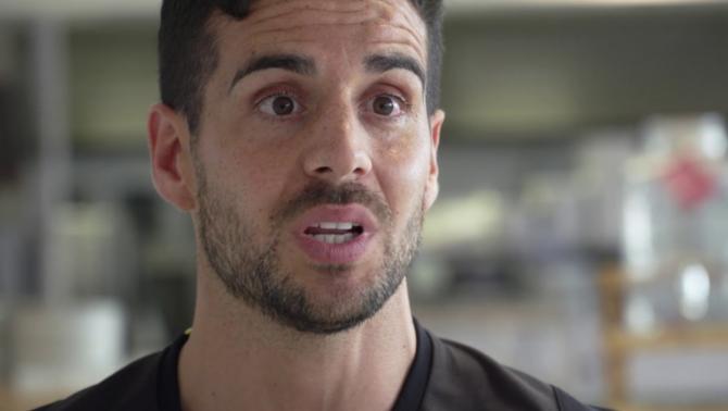 Així treballa Sergi Mateo, nutricionista del Girona FC
