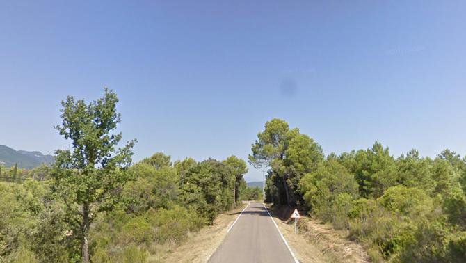 Investiguen la mort violenta d'un home trobat en una carretera a Cabanelles