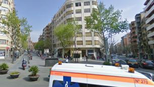 Un home ferit greu en rebre un tret a l'avinguda Gaudí de Barcelona