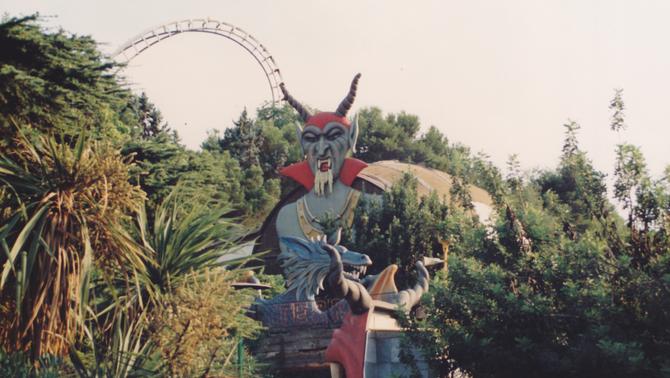 El Parc d'Atraccions de Montjuïc ensenya les entranyes