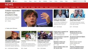 Així es fa ressò la premsa internacional de la detenció de Puigdemont