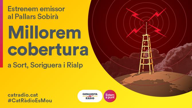 Catalunya Ràdio millora la seva cobertura a Sort, Soriguera i Rialp
