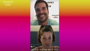 """Xavi Cazorla i Laia Tudel, fundadors de la ràdio al """"Fora de context""""!"""