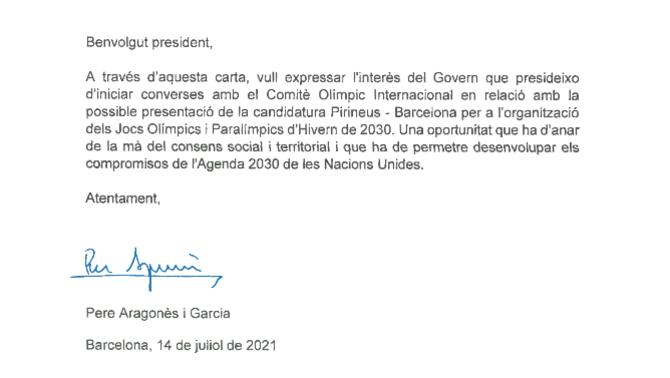La Generalitat s'ha decidit finalment a presentar la candidatura pels Jocs d'Hivern del 2030