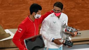 Djokovic i Nadal en una imatge d'arxiu (EFE)